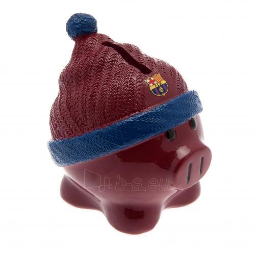 F.C. Barcelona kiaulė taupyklė (su kepure) Paveikslėlis 1 iš 4 251009000414