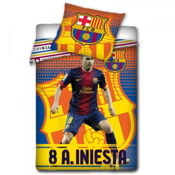 F.C. Barcelona patalynės komplektas (Iniesta) Paveikslėlis 2 iš 2 251009000433