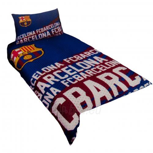 F.C. Barcelona patalynės komplektas (Spalvotas-logotipai) Paveikslėlis 1 iš 4 251009001074
