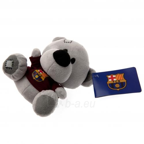 F.C. Barcelona pliušinis meškiukas (Pilkas) Paveikslėlis 4 iš 4 310820060905