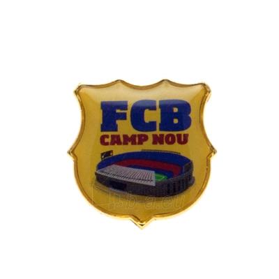 F.C. Barcelona prisegamas Camp Nou ženklelis Paveikslėlis 1 iš 3 251009000442