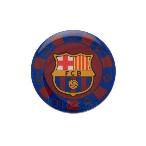 F.C. Barcelona prisegamas ženklelis - pokerio žetonas Paveikslėlis 2 iš 3 310820060842