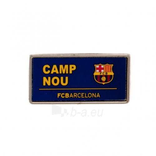 F.C. Barcelona prisegamas ženklelis (Camp Nou) Paveikslėlis 1 iš 2 310820060937