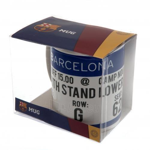 F.C. Barcelona puodelis (Baltas su logotipu) Paveikslėlis 6 iš 6 251009001119