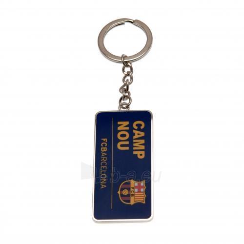 F.C. Barcelona raktų pakabukas (Stadiono adresas) Paveikslėlis 1 iš 4 251009001611