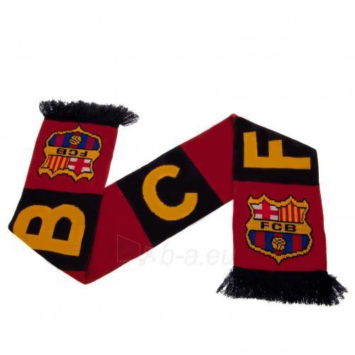 F.C. Barcelona šalikas (FCB) Paveikslėlis 1 iš 3 251009000466