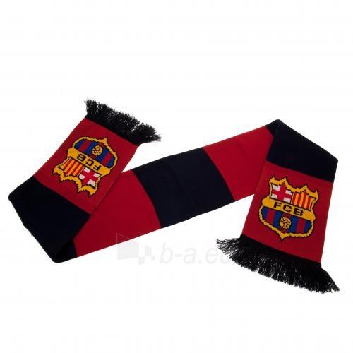 F.C. Barcelona šalikas (Juodas ir bordo) Paveikslėlis 3 iš 5 310820060647