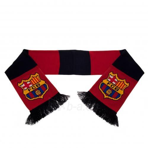 F.C. Barcelona šalikas (Juodas ir bordo) Paveikslėlis 4 iš 5 310820060647