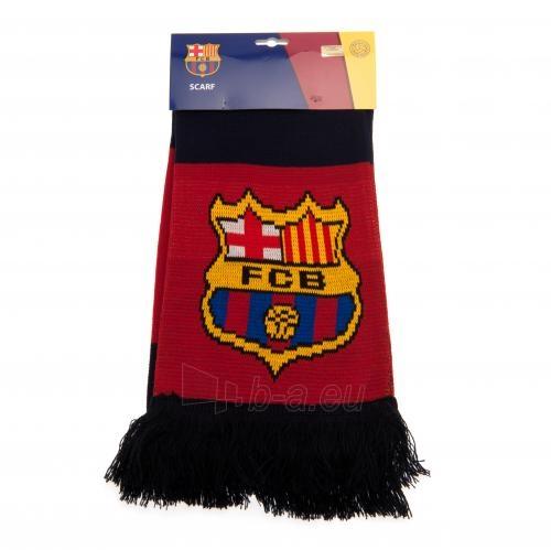 F.C. Barcelona šalikas (Juodas ir bordo) Paveikslėlis 5 iš 5 310820060647