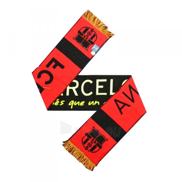 F.C. Barcelona šalikas (Spalvotas) Paveikslėlis 1 iš 3 251009001622