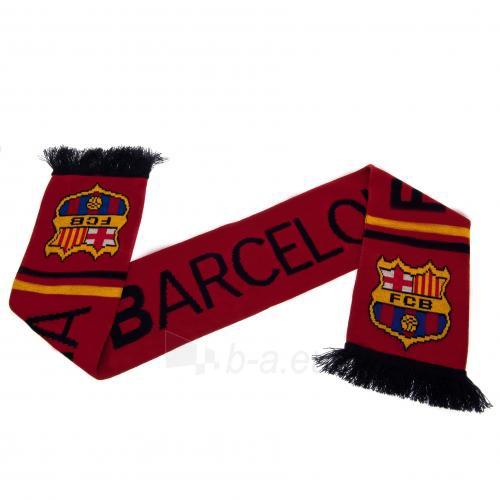F.C. Barcelona šalikas (su užrašu) Paveikslėlis 1 iš 3 251009000470
