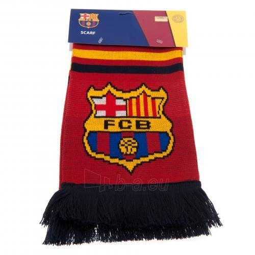 F.C. Barcelona šalikas (su užrašu) Paveikslėlis 2 iš 3 251009000470