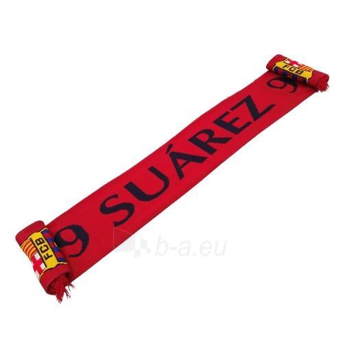 F.C. Barcelona šalikas (Suarez) Paveikslėlis 1 iš 7 251009000471