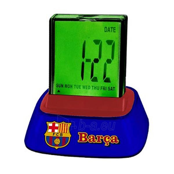 F.C. Barcelona skaitmeninis, stalo laikrodis Paveikslėlis 1 iš 2 251009001545
