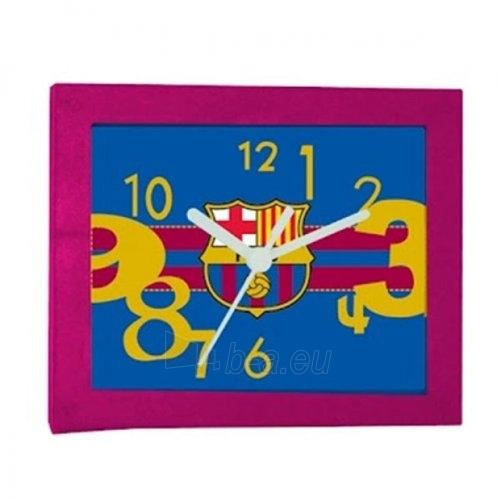 F.C. Barcelona stačiakampis stalo laikrodis Paveikslėlis 2 iš 3 251009001537