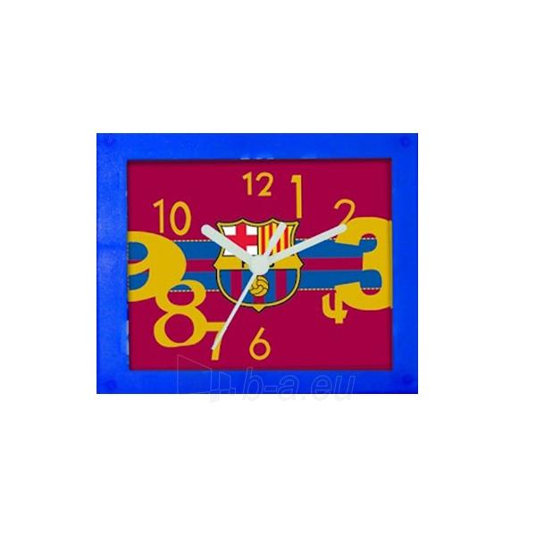 F.C. Barcelona stačiakampis stalo laikrodis Paveikslėlis 3 iš 3 251009001537