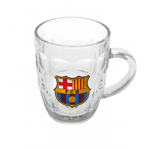 F.C. Barcelona stiklinis alaus bokalas Paveikslėlis 2 iš 3 251009000477