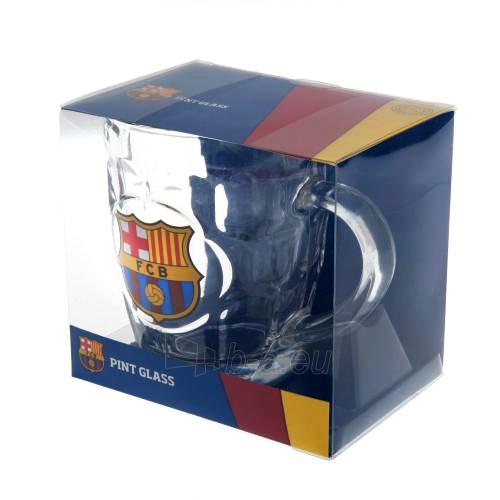 F.C. Barcelona stiklinis alaus bokalas Paveikslėlis 3 iš 3 251009000477