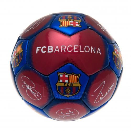 F.C. Barcelona treniruočių mini kamuolys (Autografai) Paveikslėlis 2 iš 4 251009000482