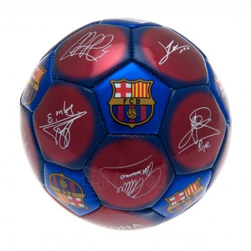 F.C. Barcelona treniruočių mini kamuolys (Autografai) Paveikslėlis 3 iš 4 251009000482