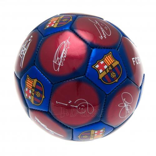 F.C. Barcelona treniruočių mini kamuolys (Autografai) Paveikslėlis 4 iš 4 251009000482