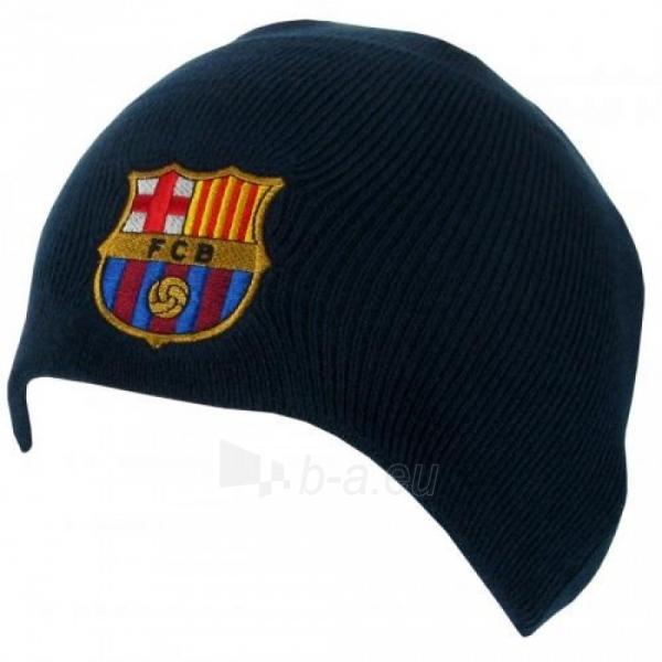 F.C. Barcelona žieminė kepurė (Tamsiai mėlyna) Paveikslėlis 1 iš 3 251009000490