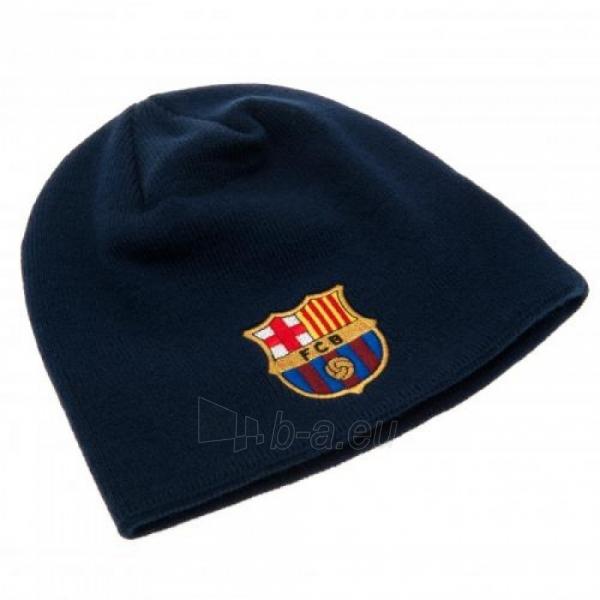 F.C. Barcelona žieminė kepurė (Tamsiai mėlyna) Paveikslėlis 2 iš 3 251009000490