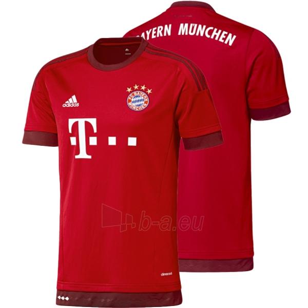 F.C. Bayern Munich oficialūs Adidas rungtynių marškinėliai 2015-2016 Paveikslėlis 1 iš 6 251009001121