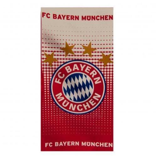F.C. Bayern Munich paplūdimio rankšluostis Paveikslėlis 1 iš 3 251009001567