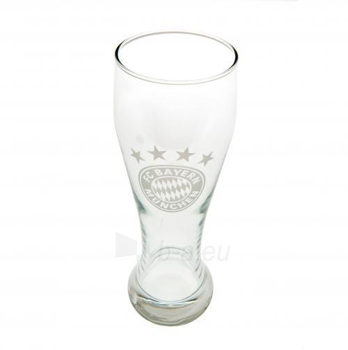 F.C. Bayern Munich stiklinė alaus taurė Paveikslėlis 1 iš 3 251009001615