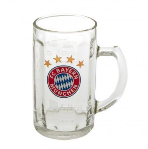 F.C. Bayern Munich stiklinis alaus bokalas Paveikslėlis 1 iš 4 251009001561