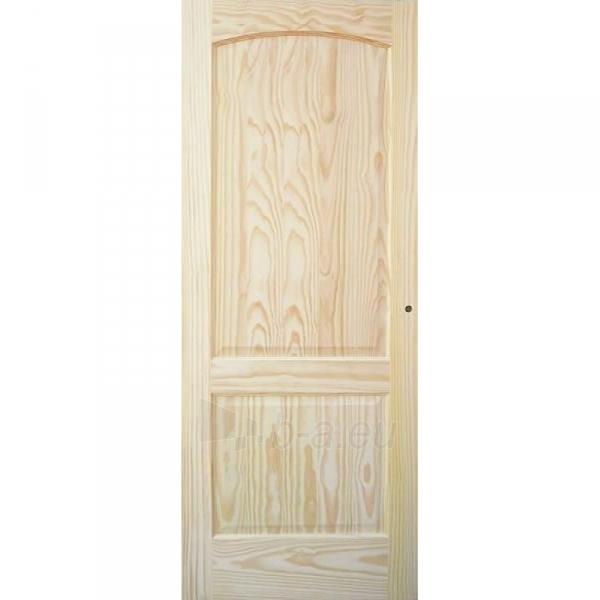 Finierētas durvis vērtne MALAGA 71x203 cm, priede Paveikslėlis 1 iš 1 237930400440