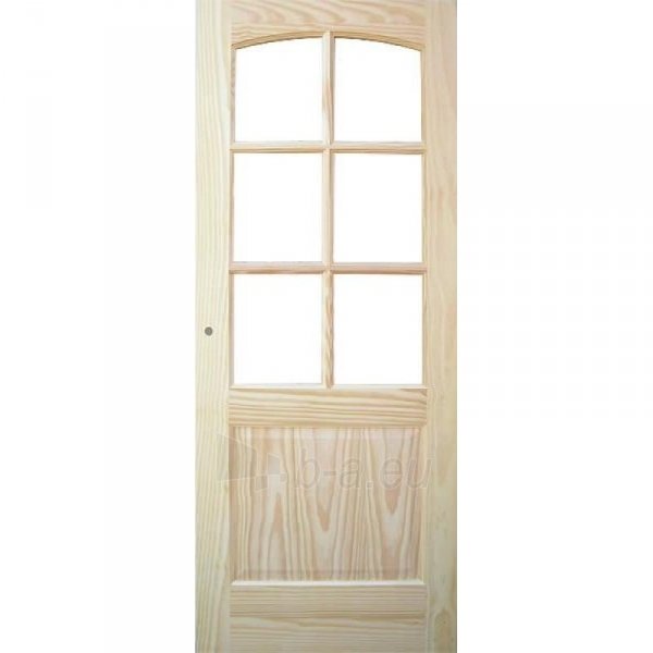 Faneruota durų varčia MALAGA CKRISTAL 91x203 cm, pušis Paveikslėlis 1 iš 1 237930400445