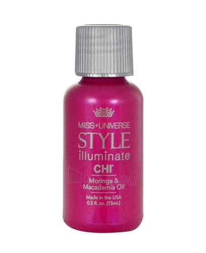 Farouk Systems CHI Style Illuminate Moringa&Macadamia Oil Cosmetic 15ml Paveikslėlis 1 iš 1 250832400455