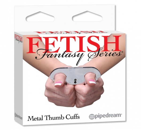 Fetish fantasy series antrankiai nykščiams Paveikslėlis 1 iš 1 25140906000038