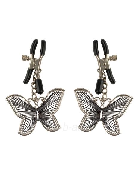Fetish Fantasy Spenelių spaustukai su drugeliais Paveikslėlis 1 iš 3 25140914000051