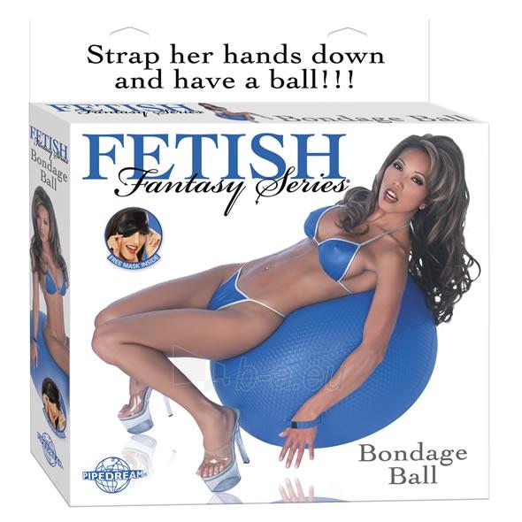 Ff Bondage Ball - Blue Paveikslėlis 1 iš 1 2514153000033