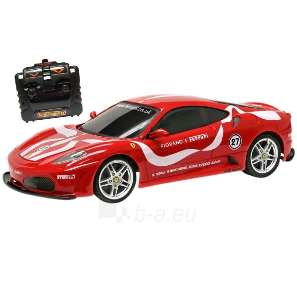 FIORANO FERRARI RED automobilis su nuotolinio valdymo pulteliu 1:10 Paveikslėlis 1 iš 1 30007100033