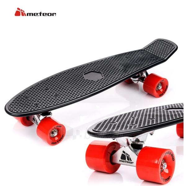 Fishboard riedlentė METEOR Black Red Paveikslėlis 1 iš 2 310820011052