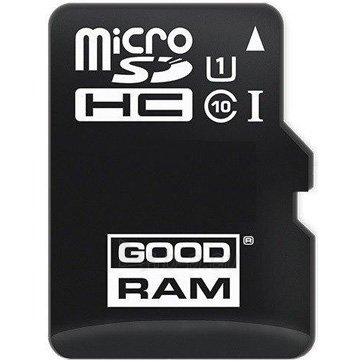 Flash atmintinė GOODRAM 16GB MICRO CARD, class 10, UHS I + adapter Paveikslėlis 1 iš 1 310820018471
