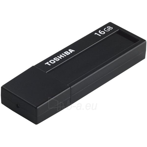 Flash atmintinė TOSHIBA 16GB USB 3.0 U302 BLACK - RETAIL Paveikslėlis 1 iš 1 310820042497