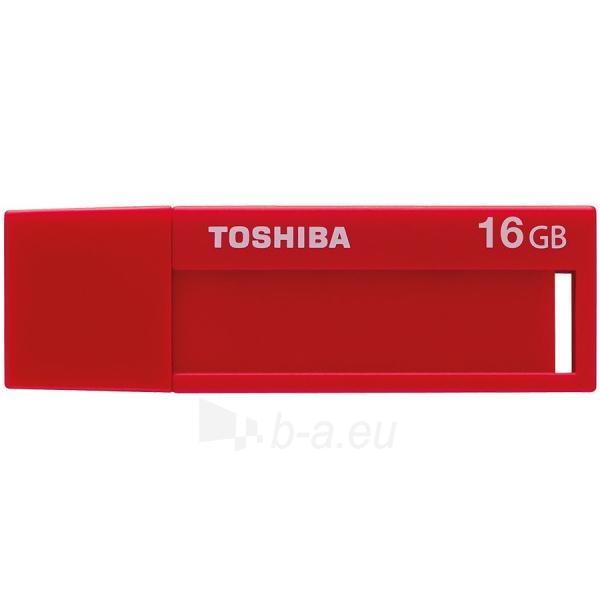 Flash atmintinė TOSHIBA 16GB USB 3.0 U302 RED - RETAIL Paveikslėlis 1 iš 1 310820042494