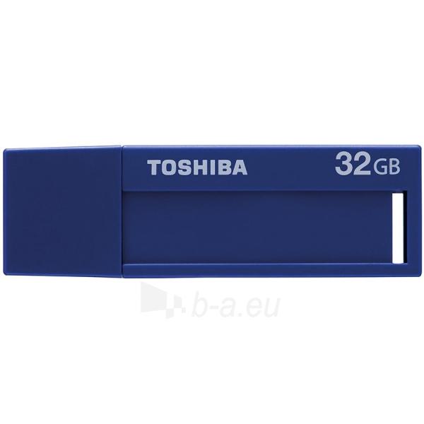 Flash atmintinė TOSHIBA 32GB USB 3.0 U302 BLUE - RETAIL Paveikslėlis 1 iš 1 310820042500