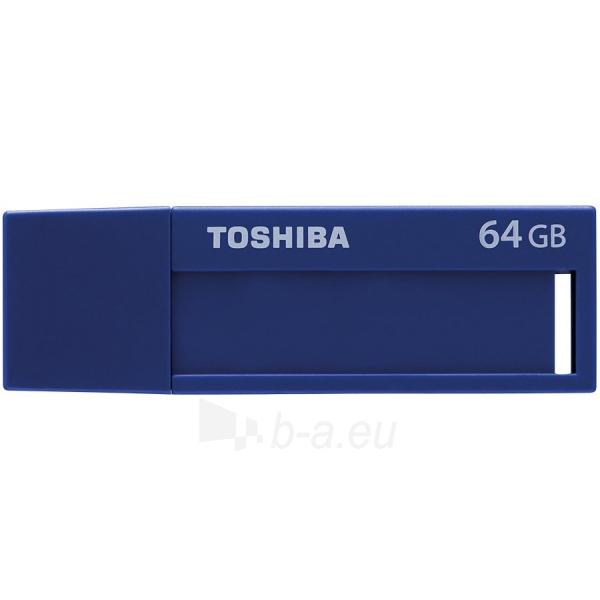 Flash atmintinė TOSHIBA 64GB USB 3.0 U302 BLUE - RETAIL Paveikslėlis 1 iš 1 310820042499