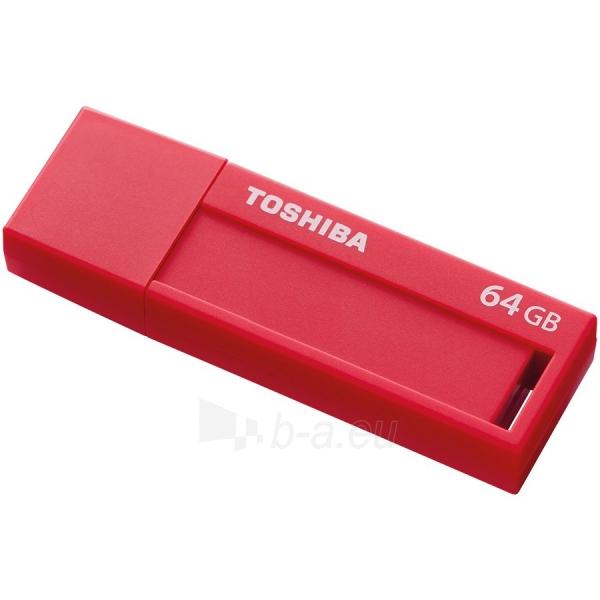 Flash atmintinė TOSHIBA 64GB USB 3.0 U302 RED - RETAIL Paveikslėlis 1 iš 1 310820042492