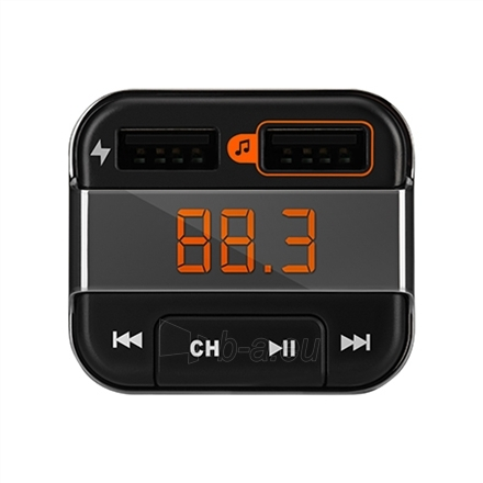 FM moduliatorius Acme Bluetooth FM transmitter and charger, Right Now Paveikslėlis 3 iš 5 310820096583
