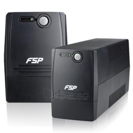 Fortron FSP Line Interactive UPS FP-800/ 800VA, 480W/ AVR/ 2 Schuko Output Sockets Paveikslėlis 1 iš 1 250254300386