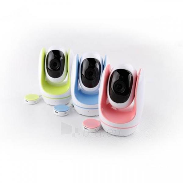 Foscam Baby Monitor IP camera FOSBABY-GREEN WLAN 2.8mm H.264 720p Plug&Play Paveikslėlis 5 iš 6 30024800199
