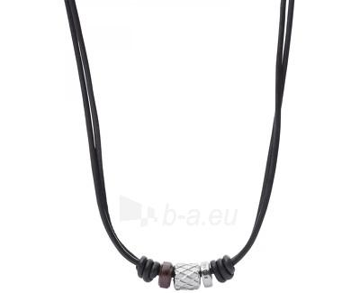 Fossil Pánský kožený náhrdelník JF02207040 Paveikslėlis 1 iš 1 310820041523
