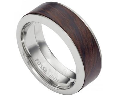 Fossil vyriškas žiedas su medžio apdaila JF02206040 (Dydis: 60 mm) Paveikslėlis 1 iš 1 310820023329